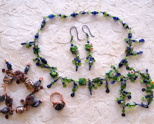 Wire and Bead Jewelry